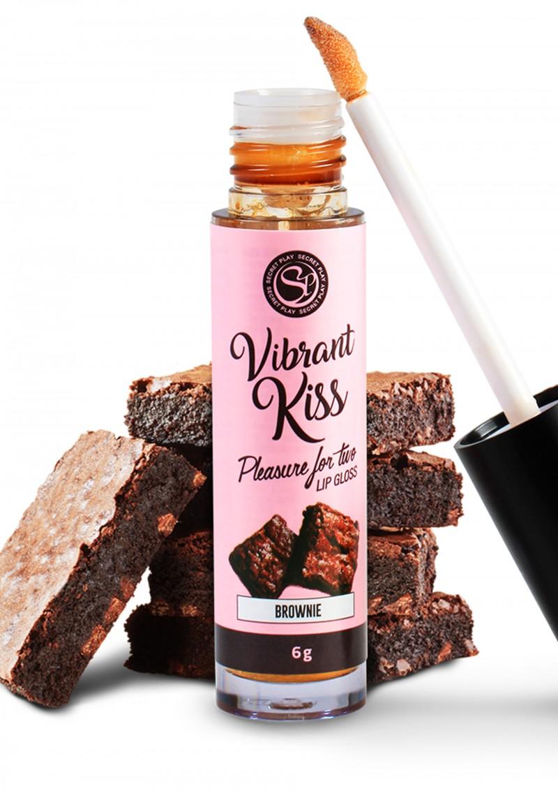 Secret Play Lip Gloss Vibrant Kiss Brownies