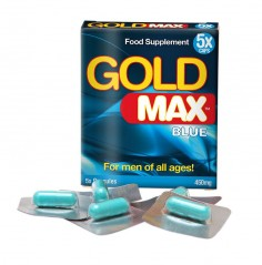 Gold Max™ Blue for Man - 5 capsules