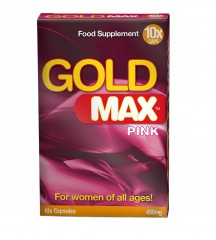 Gold Max Pink Capsules for Women 10 caps
