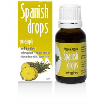 Spanish Fly Drops 15ml Pineapple
