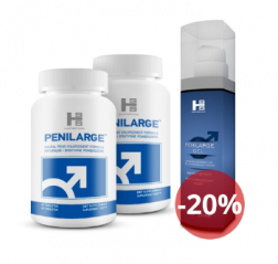 Penilarge 2 bottles + Gel - save 20%