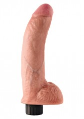 Cock With Balls Flesh 9 Inch