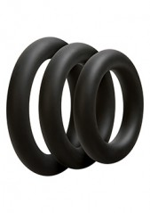 Optimale 3 C-Ring Set Thick Black
