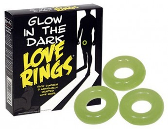 Glow In The Dark Love Rings