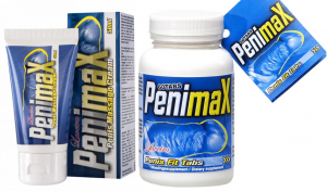 PenimaX Penis Fit Tabs and Cream