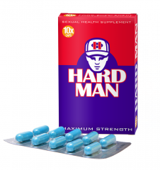 Hard Man Maximum Strength - 10 caps save 22%