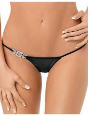 P50521 Jeweled Side Thong