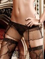 Mini Skirt With Garter Belt