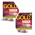 Gold Max Pink 4 Caps for Women