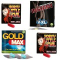 Erection Aids Pack 2 - GoldMax + Horny Devil +V-XL - save 33%