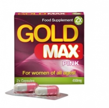 Gold Max Pink 2 Capsules for Women - 2 capsules